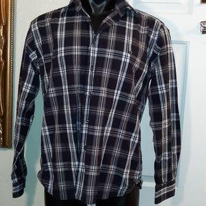 Ike Behar Mens Long Sleeved Shirt NWOT